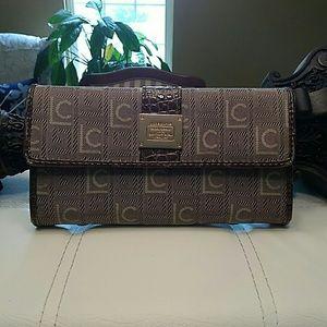 Liz Claiborne signature wallet